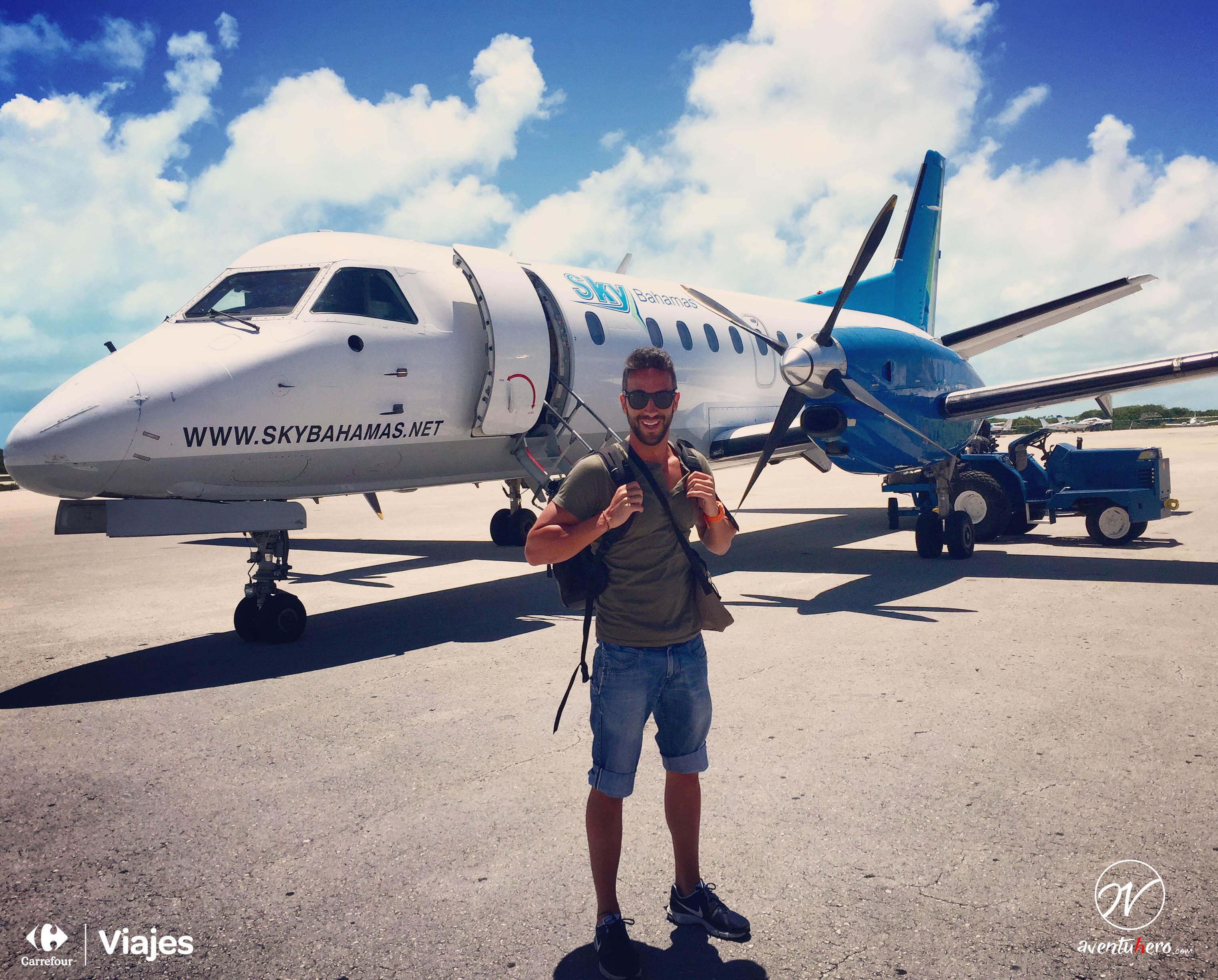 Avión interno Bahamas