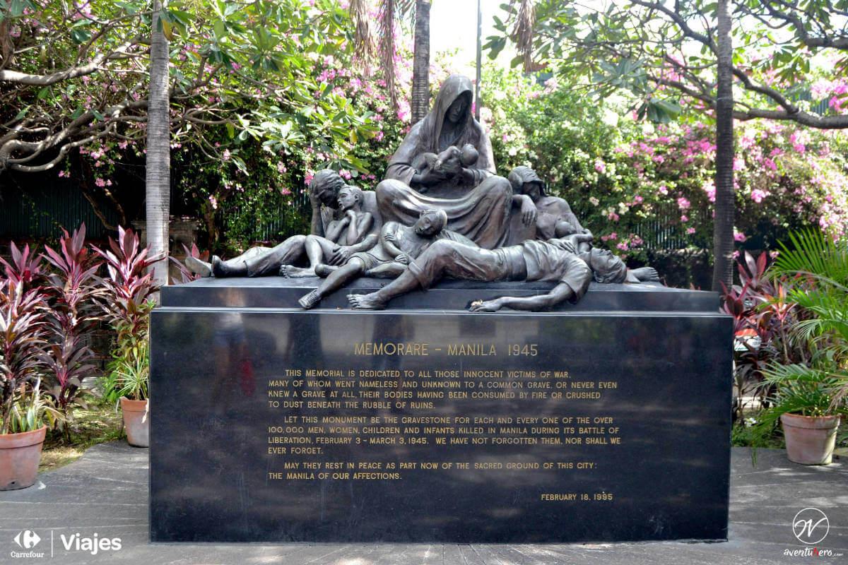 Aventuhero, Monumento Manila