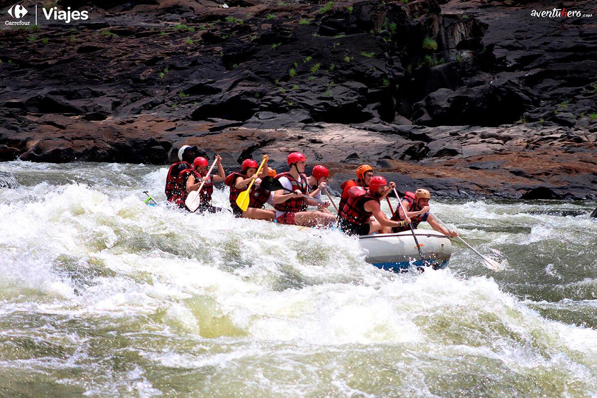 Rafting en Cataratas Victoria