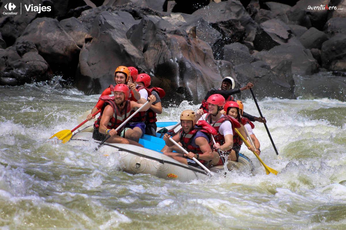 Aventuhero, Rafting Cataratas Victoria