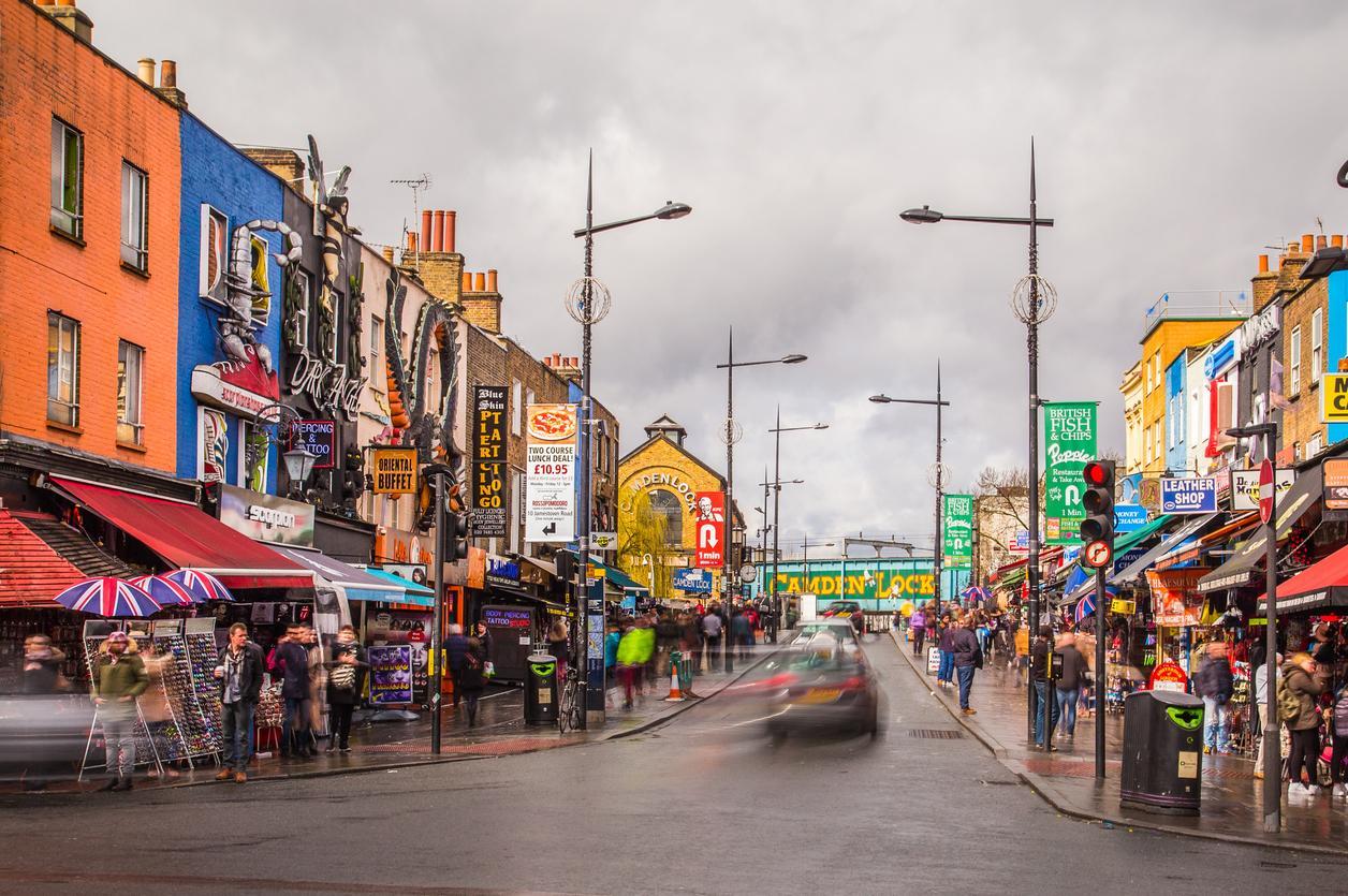 Camden Town en Londres