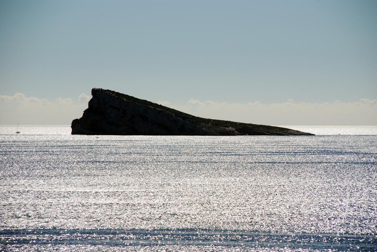 Isla Benidorm, Costa Blanca (España)