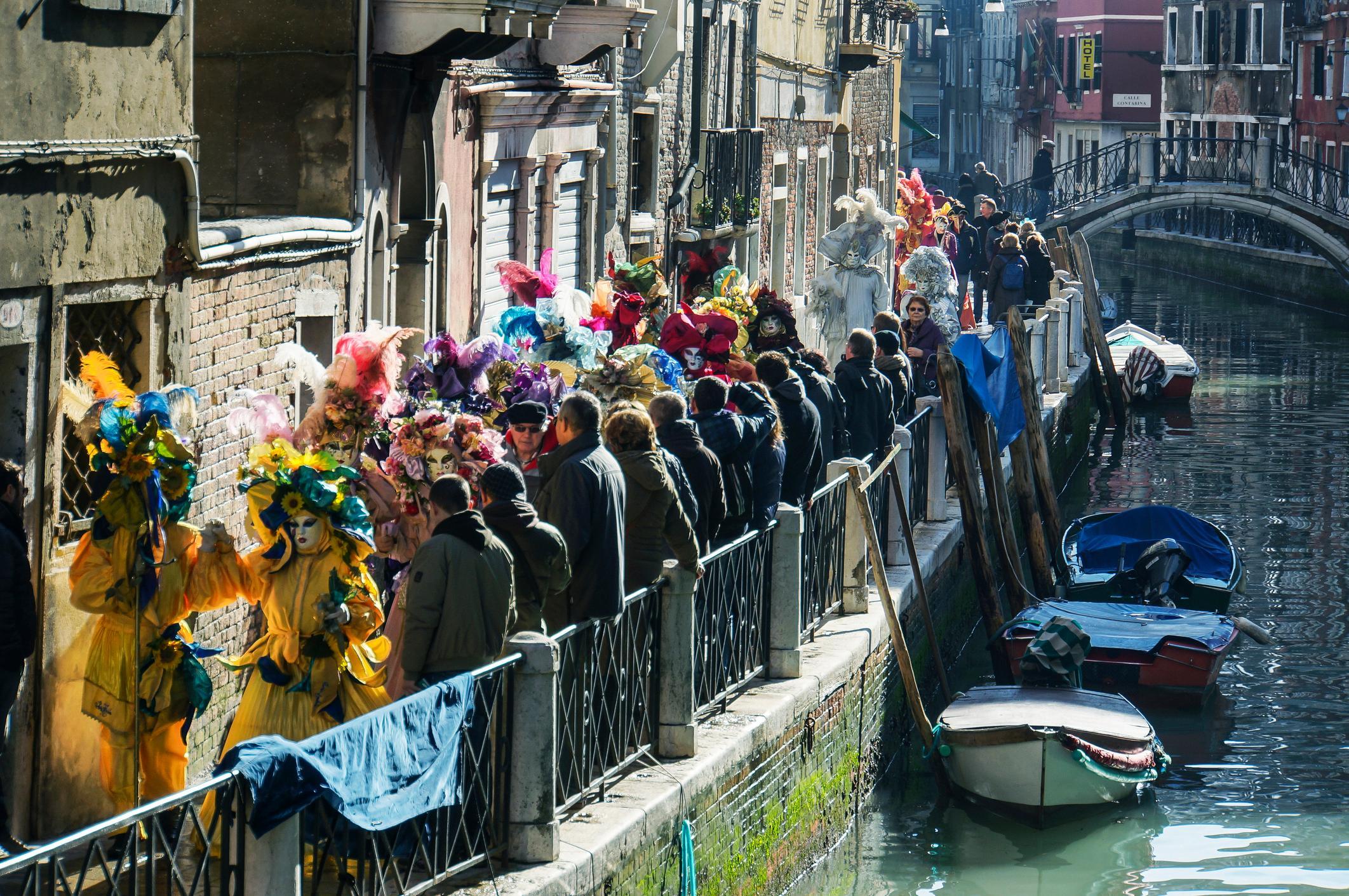 Venice Carnival procession
