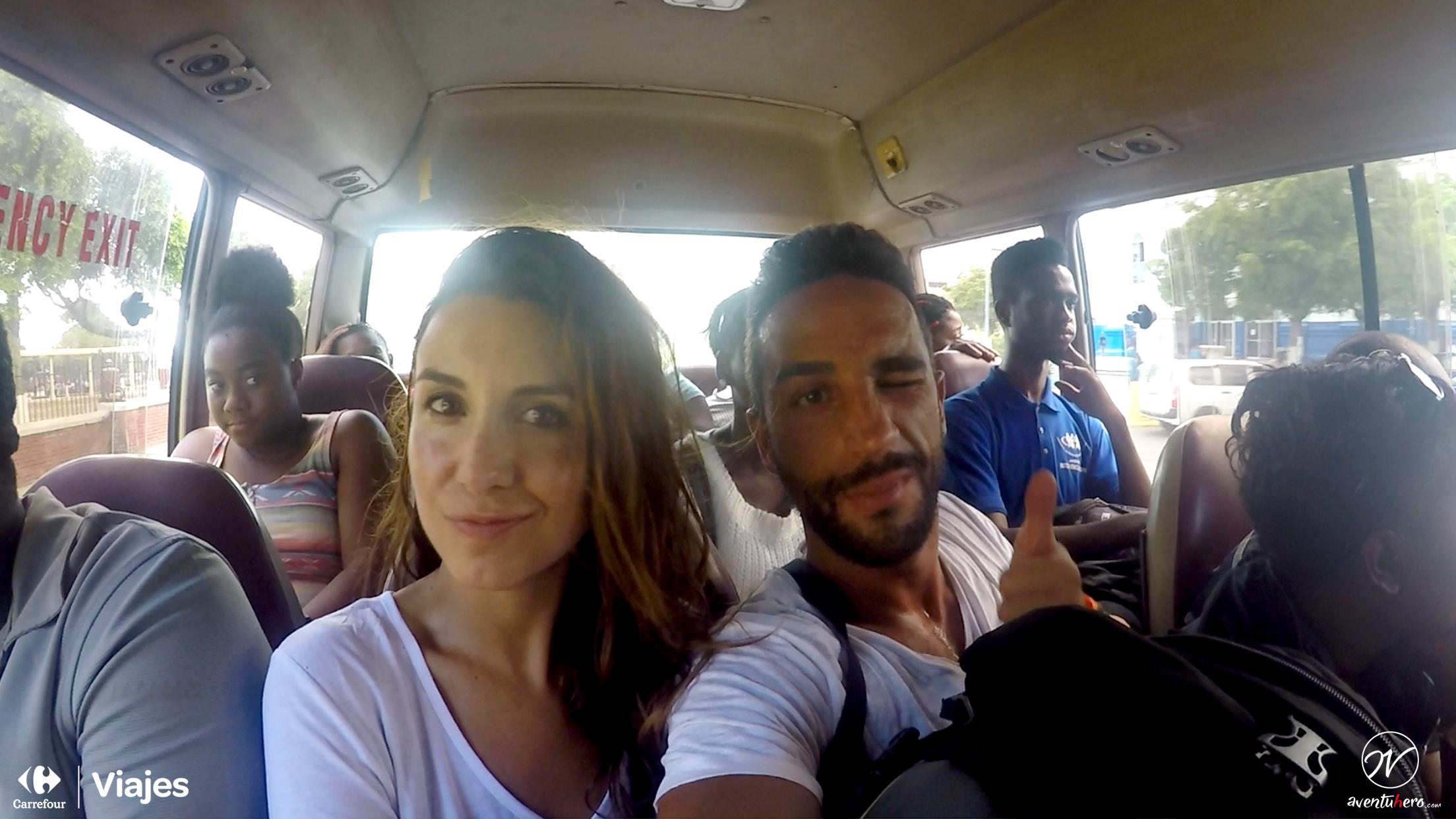 Aventuhero Jamaica Furgoneta juntos