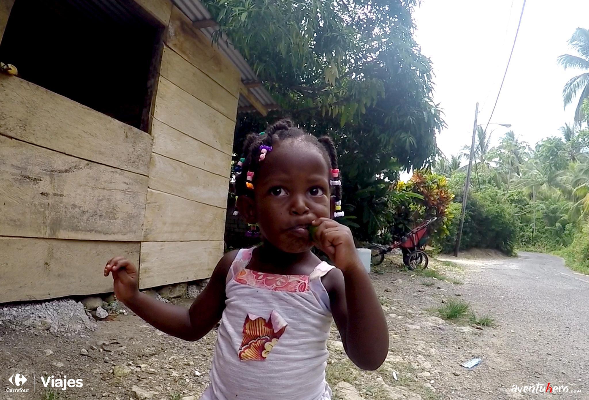 Aventuhero Jamaica Hija pequena Michelle