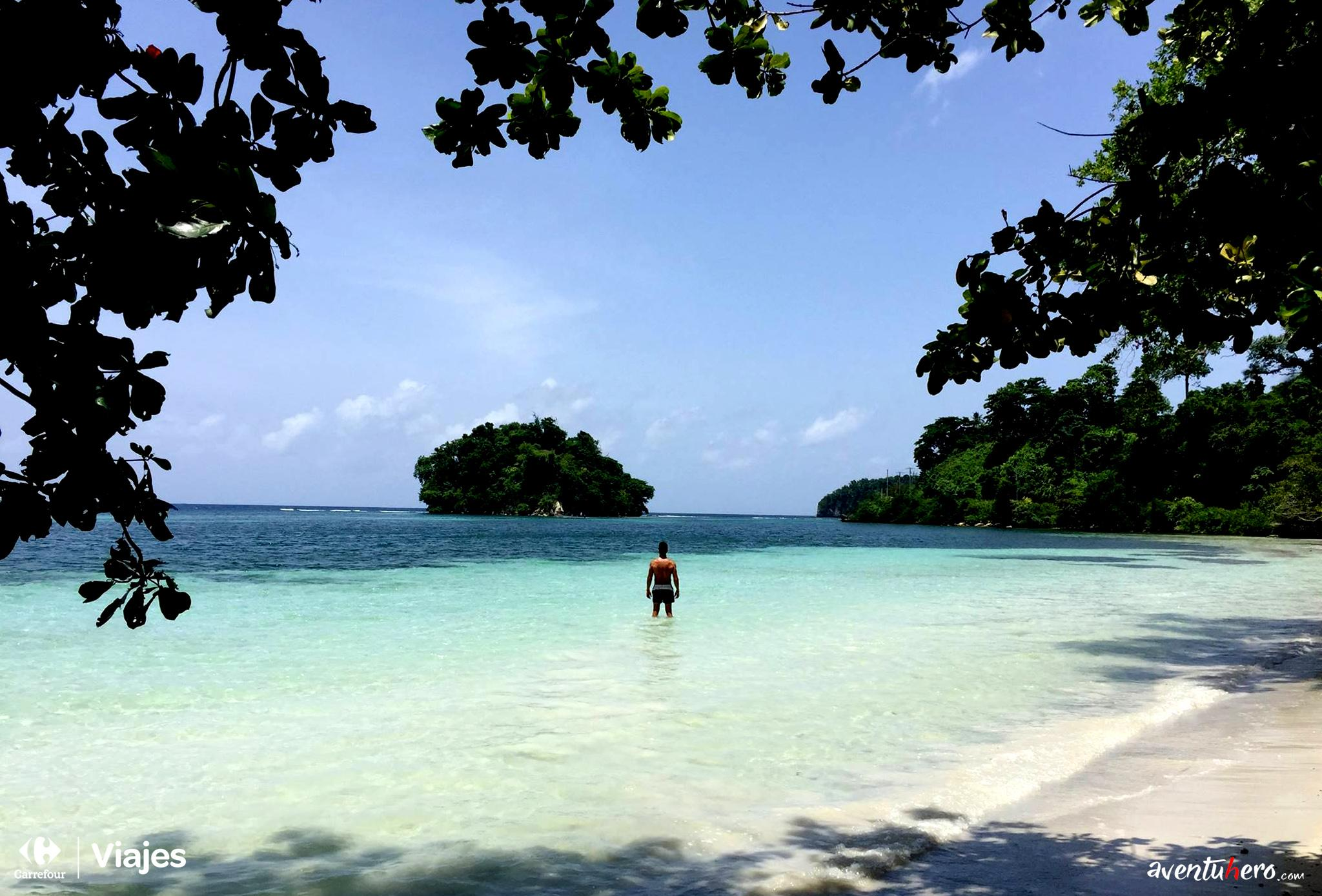 Aventuhero - San San Beach. Jamaica