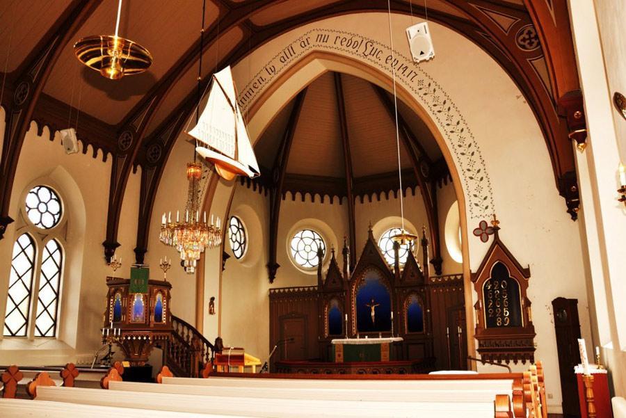 La Iglesia de Fjallbacka