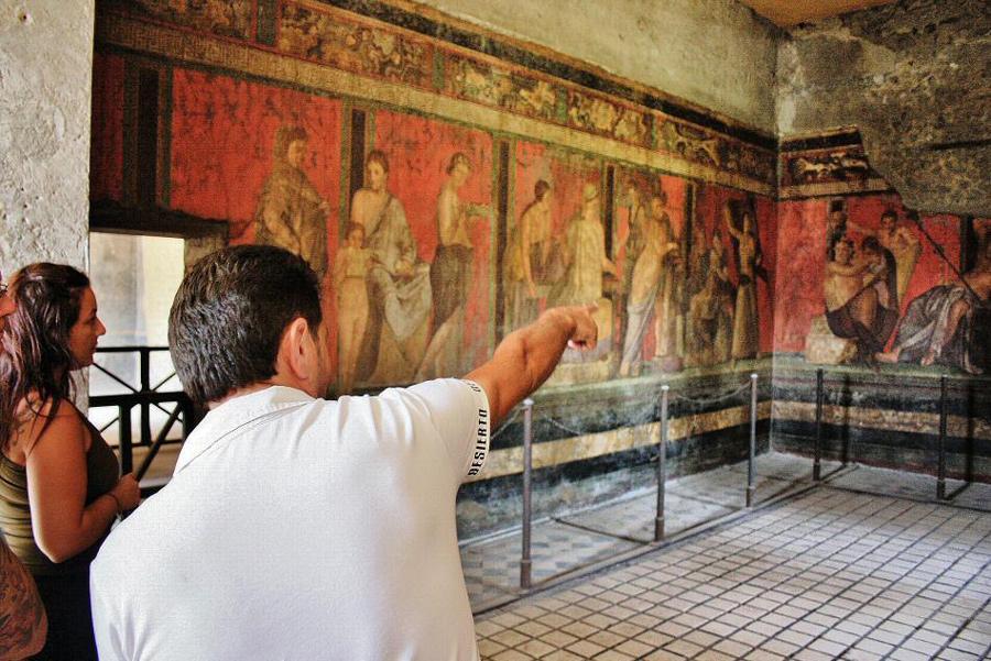 Villa Misterios Pompeya