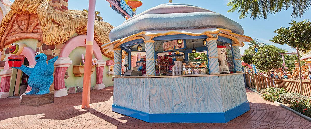 Donde comer en PortAventura, sesamo aventura