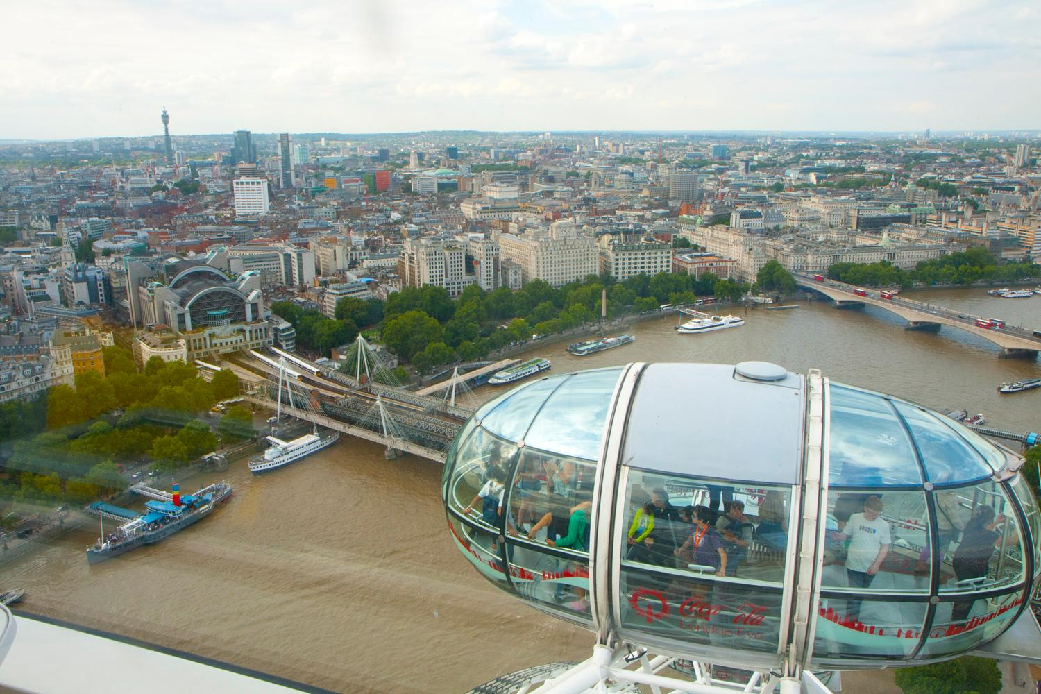 Londres, London Eye