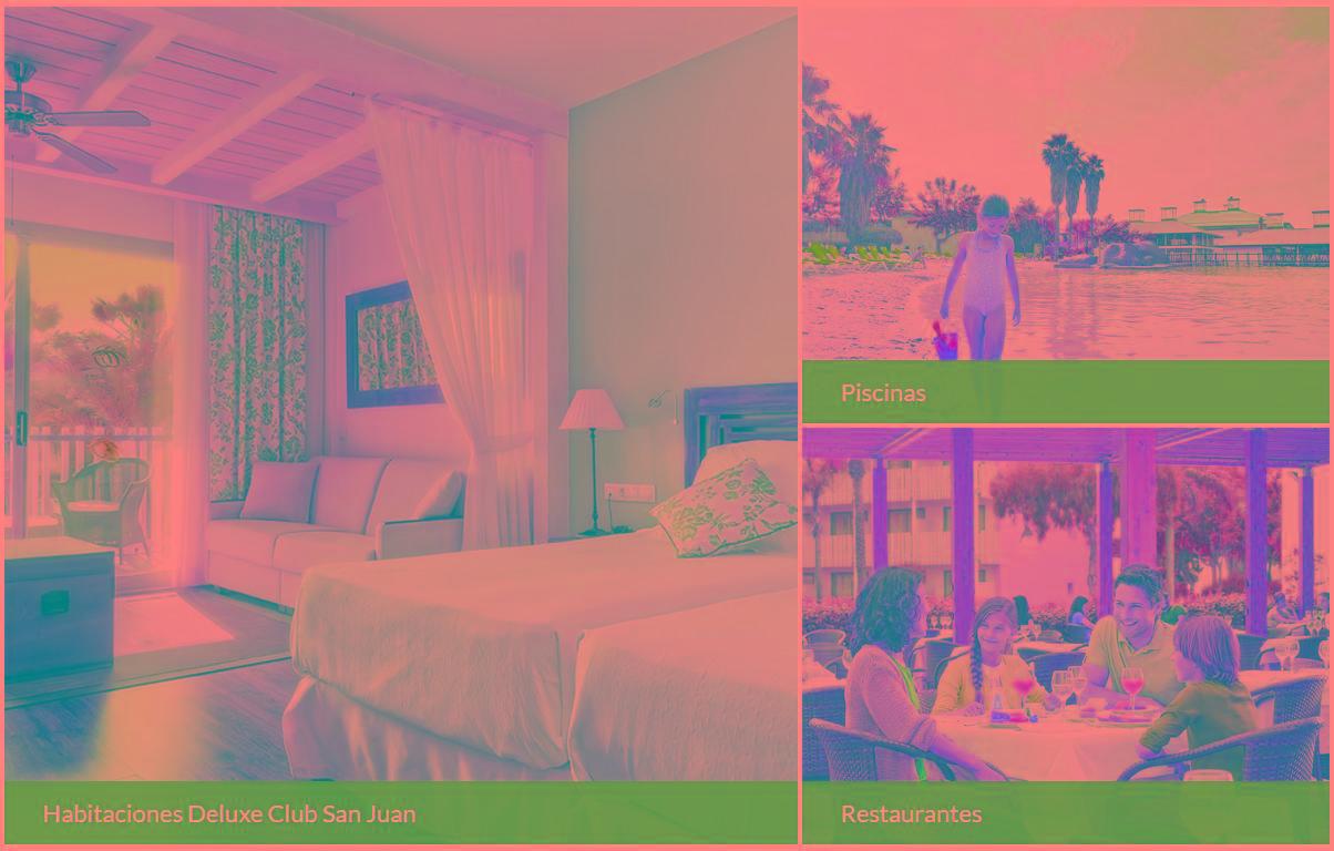 Hoteles de Port Aventura, Caribe Hotel