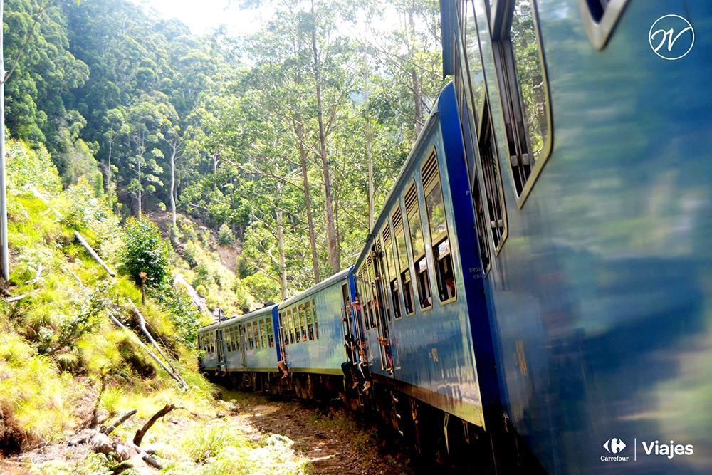 Aventuhero - El tren con las mejores vistas del mundo, Sri Lanka