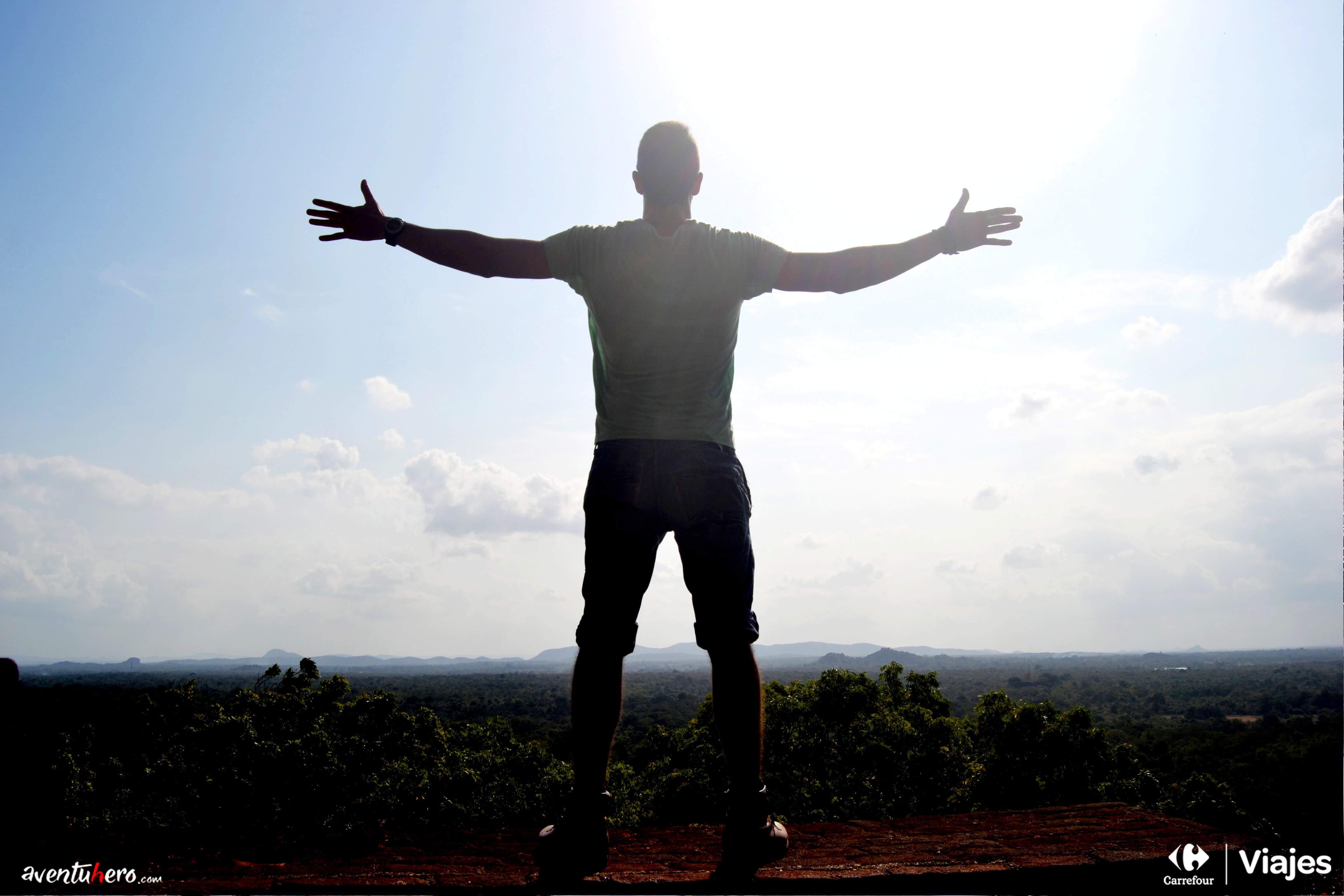 Aventuhero, Viaje a Sri Lanka ¡Soy el Rey de Sigiriya!