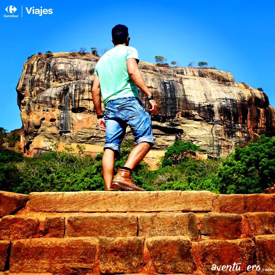 Aventuhero, Viaje a Sri Lanka - A los pies de Sigiriya