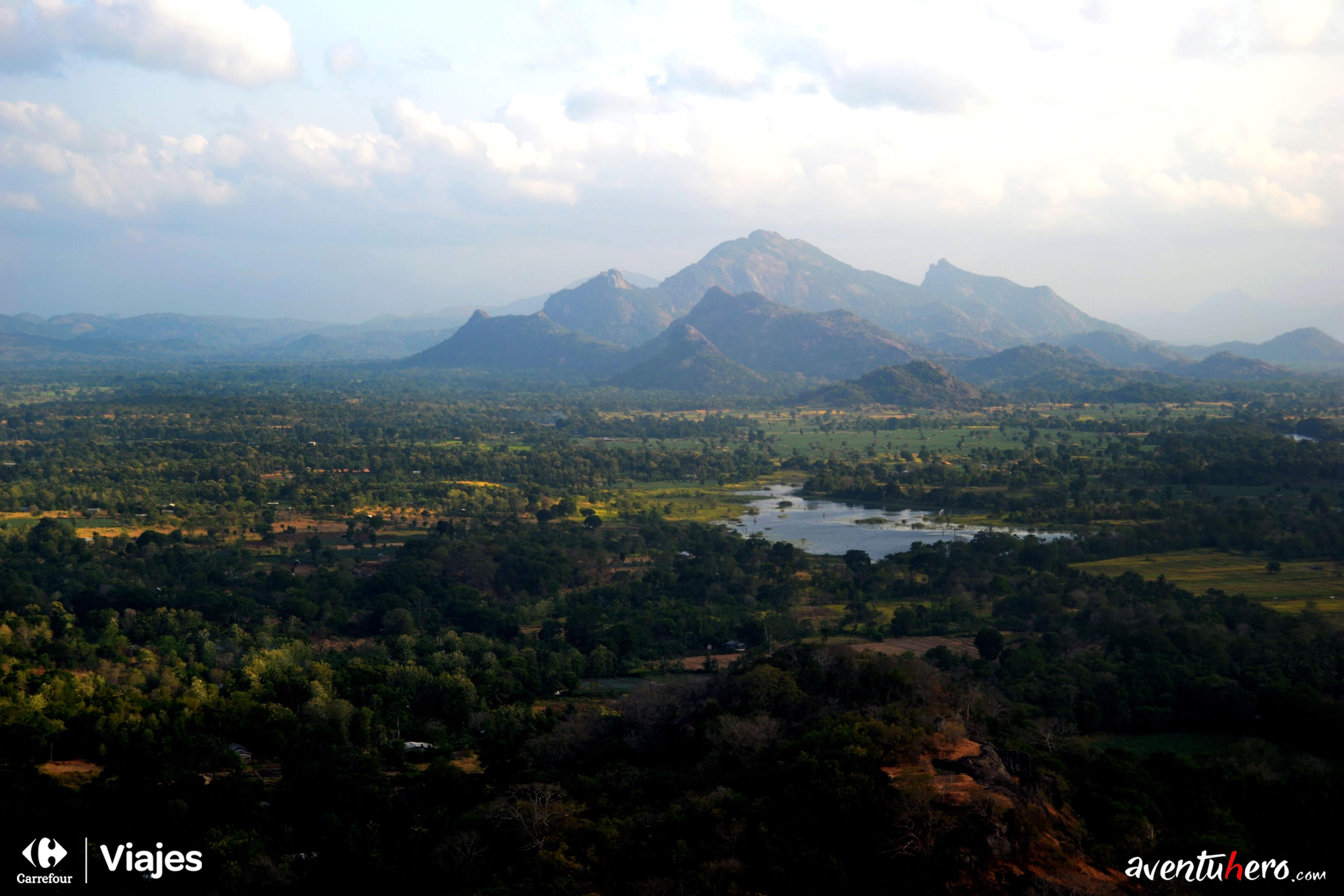 Aventuhero, Sri Lanka - En lo alto de la Roca del León