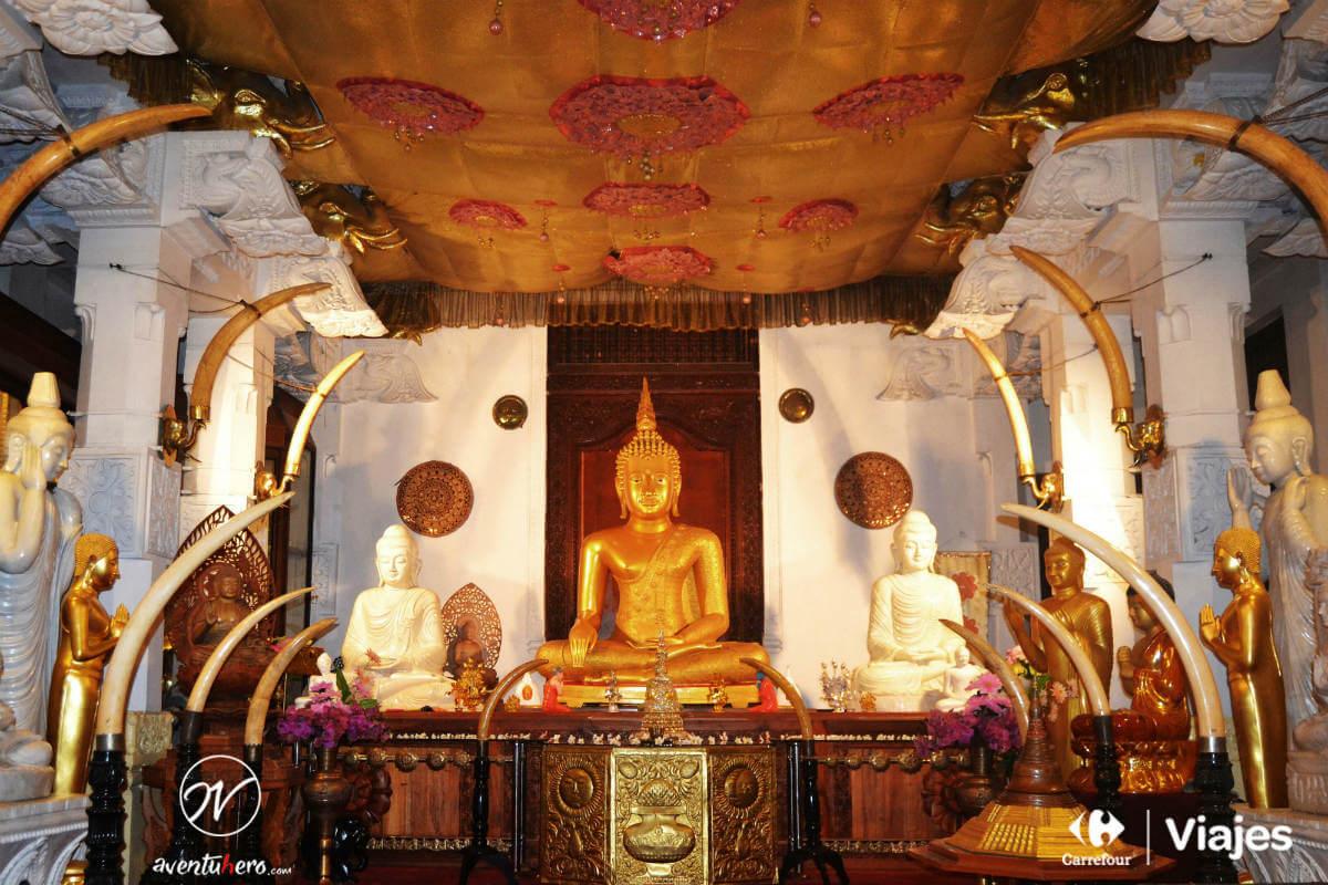 Aventuhero, Sri Lanka - Templo del Diente