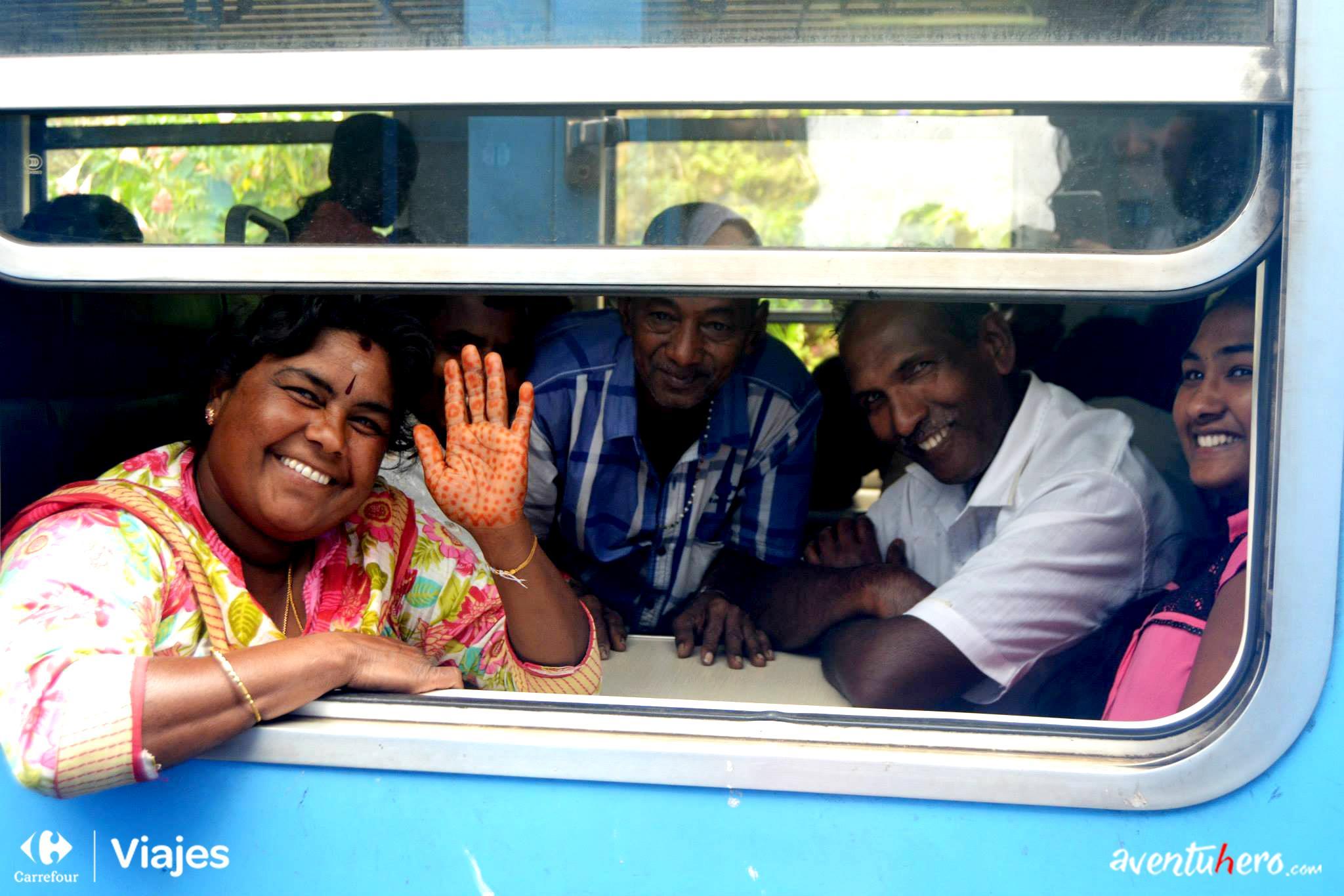 Aventuhero, Sri Lanka - Tren hacia Kandy
