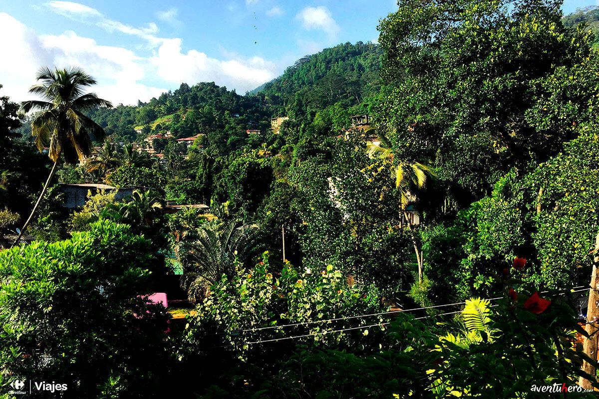 Aventuhero, Sri Lanka - Vistas desde el balcón