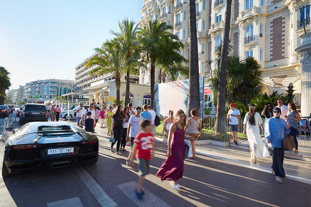 Oferta Viaje a Cannes paseo de la Croisette