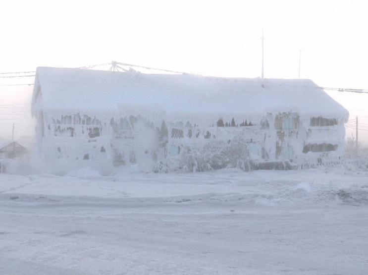 Oymyacon en invierno