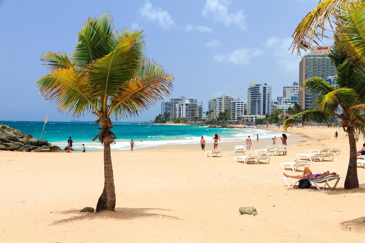 Caribe, San Juan beach