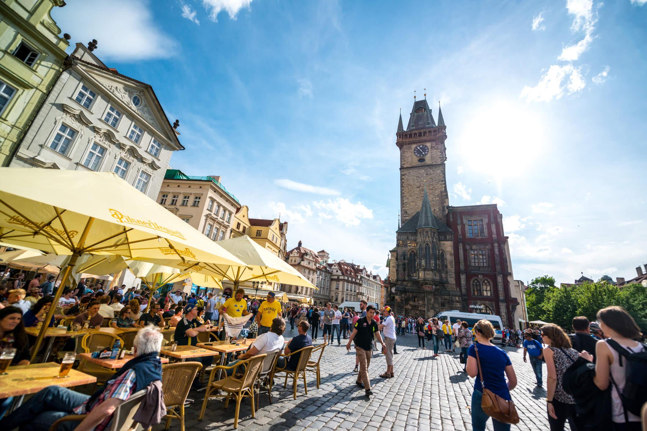 Viaje a Praga, calles
