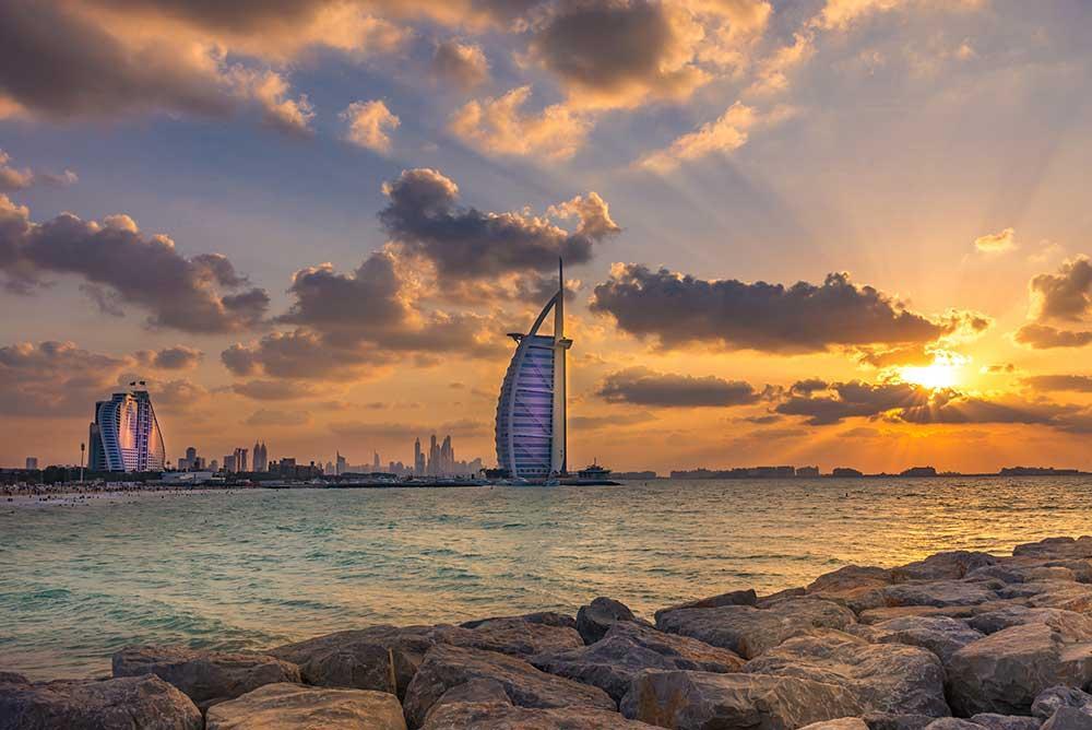 Burj Al Arab, Viaje a Dubái