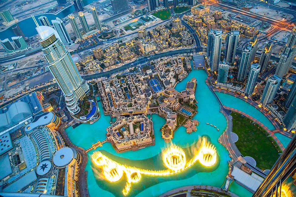 Burj Khalifa, Viaje a Dubái