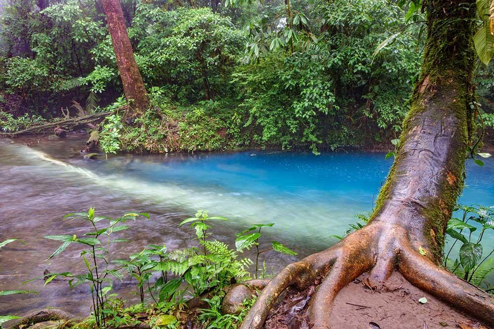 Costa Rica, Rio Celeste