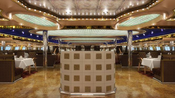Crucero por el Mediterraneo Costa Diadema restaurante 2