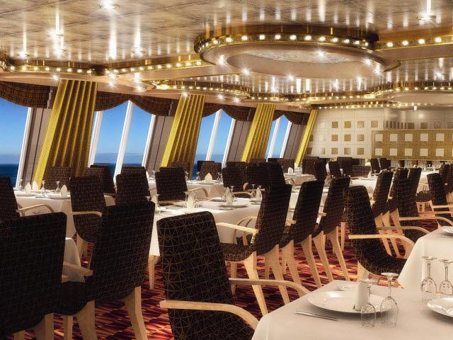 Crucero por el Mediterraneo Costa Diadema restaurante