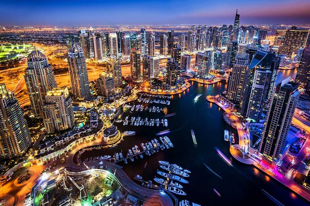 Dubai Marina, Viaje a Dubai