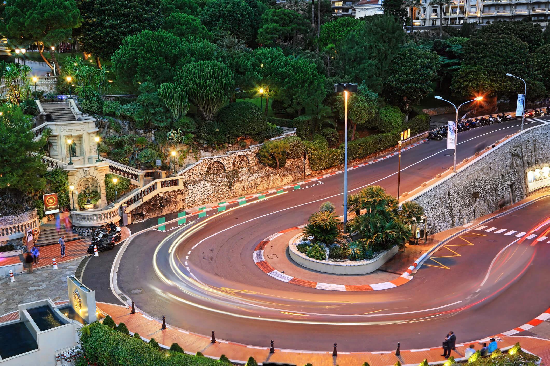 Entrada y Hotel F1 Mónaco circuito