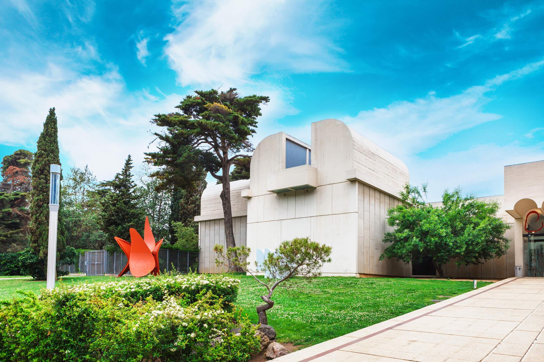 Escapada Barcelona Fundacion Joan Miro baja