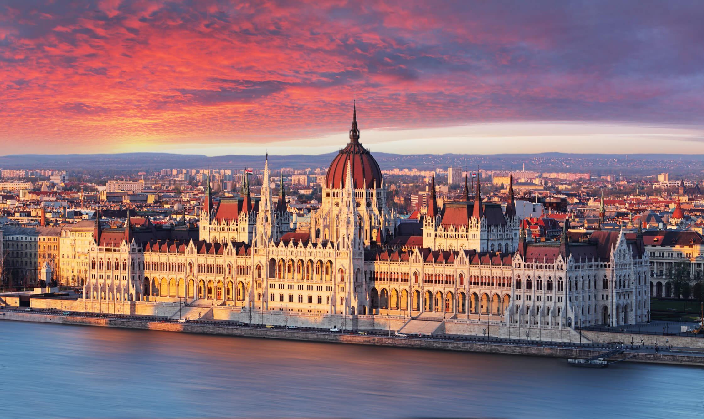 Escapada a Budapest parlamento