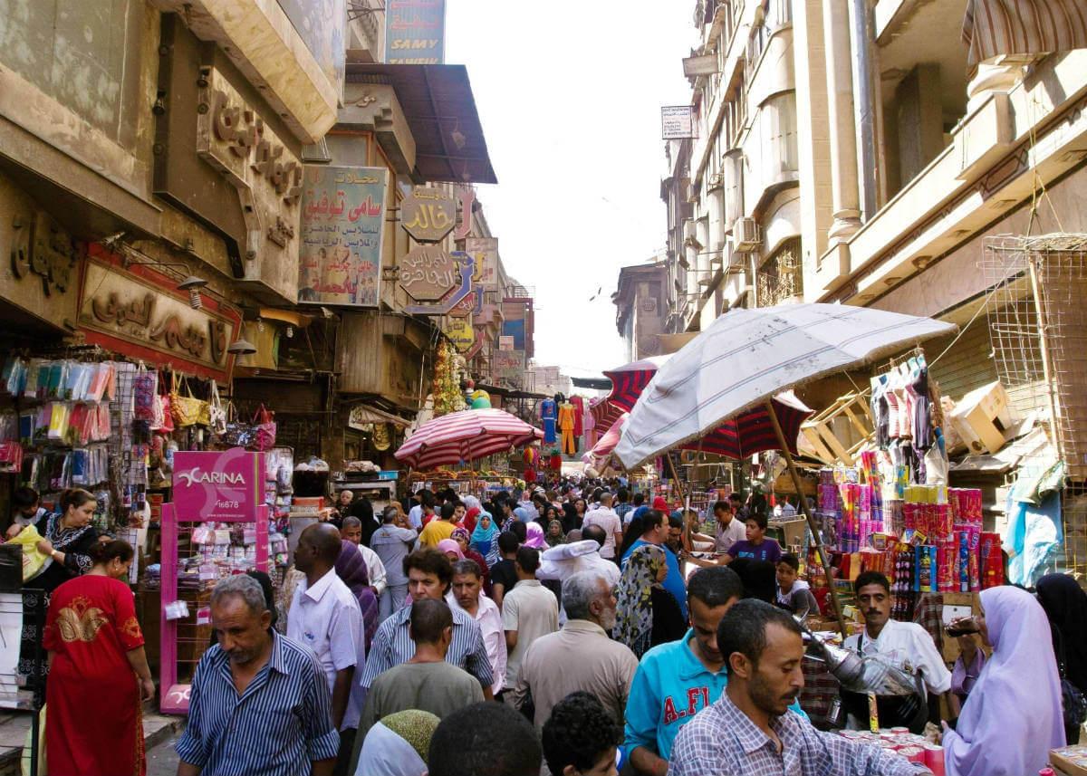 Vacaciones en Egipto, Mercado
