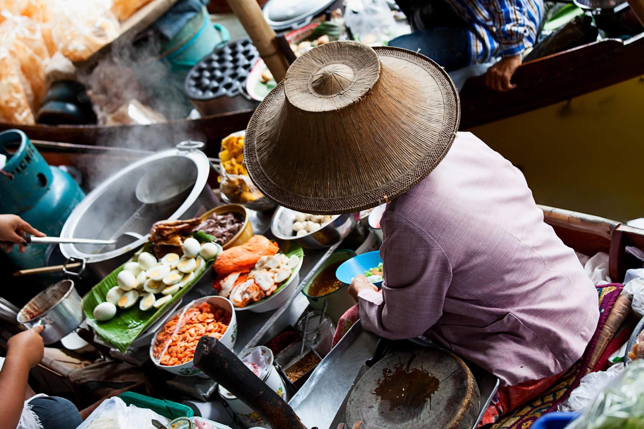 Viaje a Tailandia, Damnoem Saduak