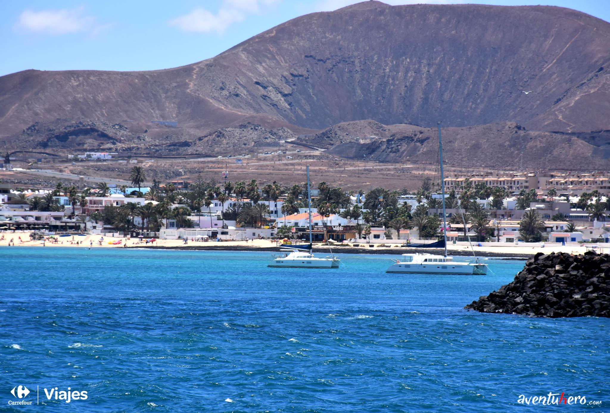 Aventuhero - El puerto de Fuerteventura