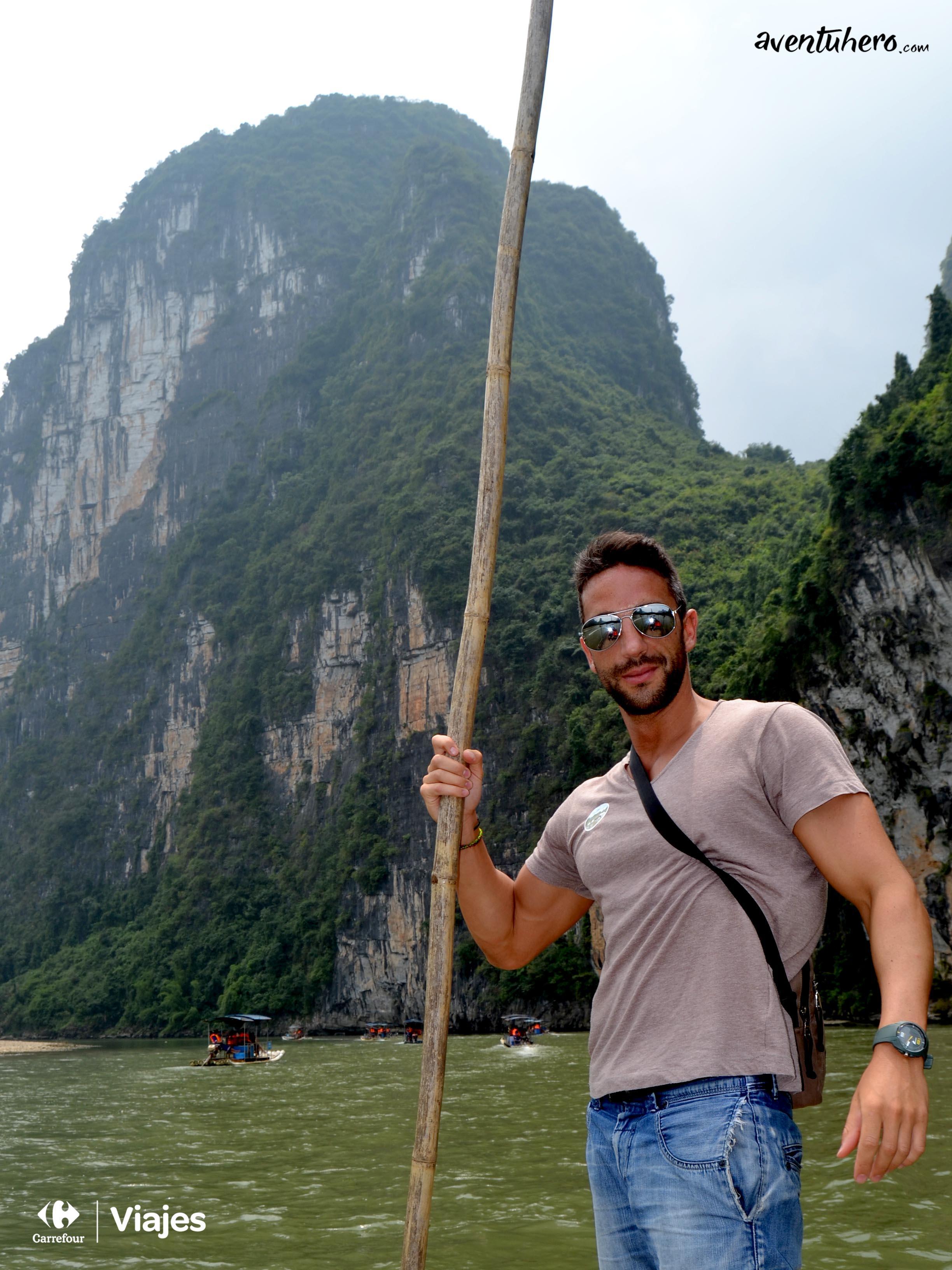 17 Aventuhero - Surcando el rio Li