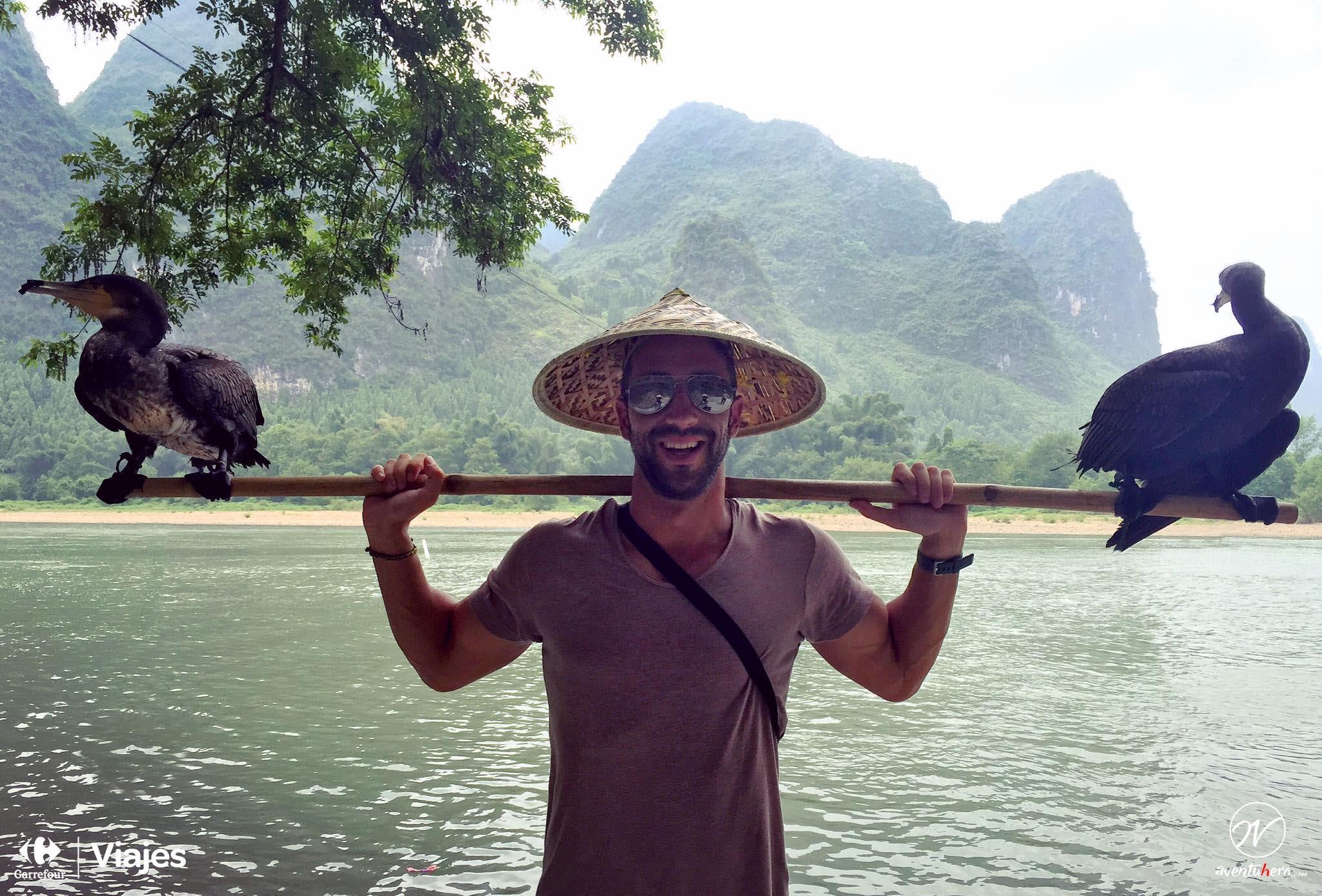 18 Aventuhero - Un tipico pescador de Guilín