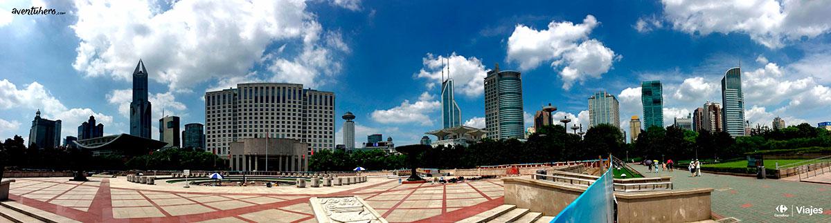 19 Aventuhero - Shanghai Plaza del pueblo