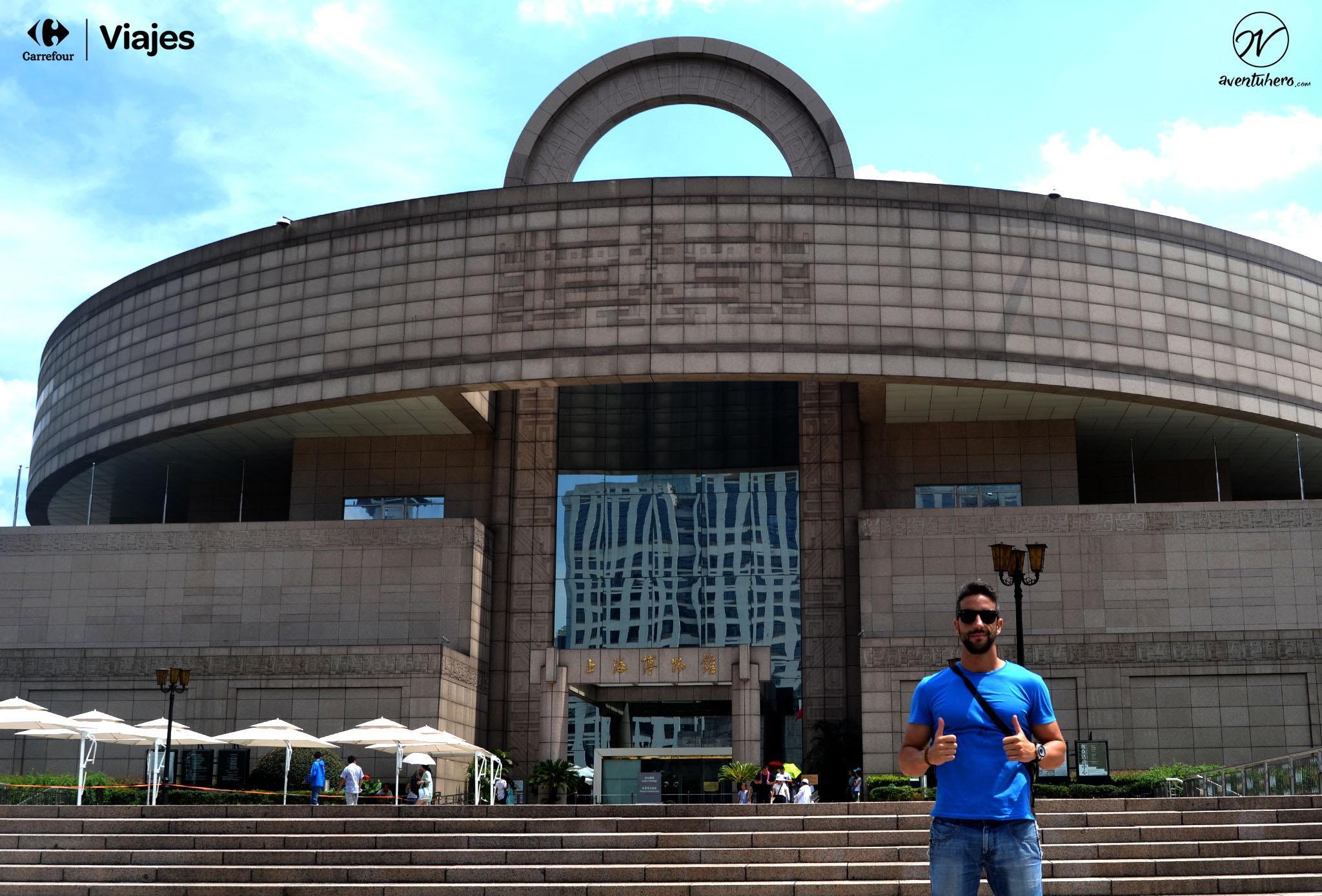20 Aventuhero - Shanghai Plaza del pueblo