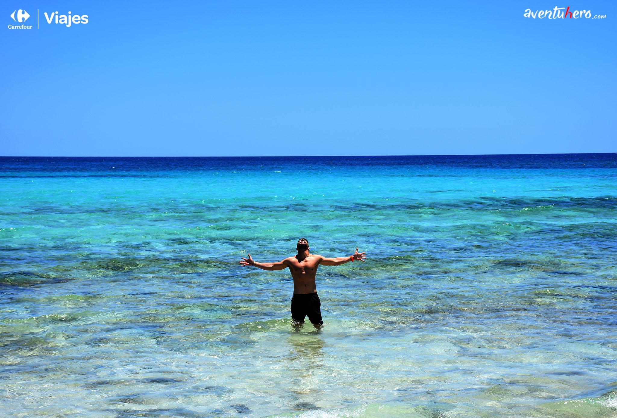 Aventuhero - Playa de El Corralejo escapada a Fuerteventura