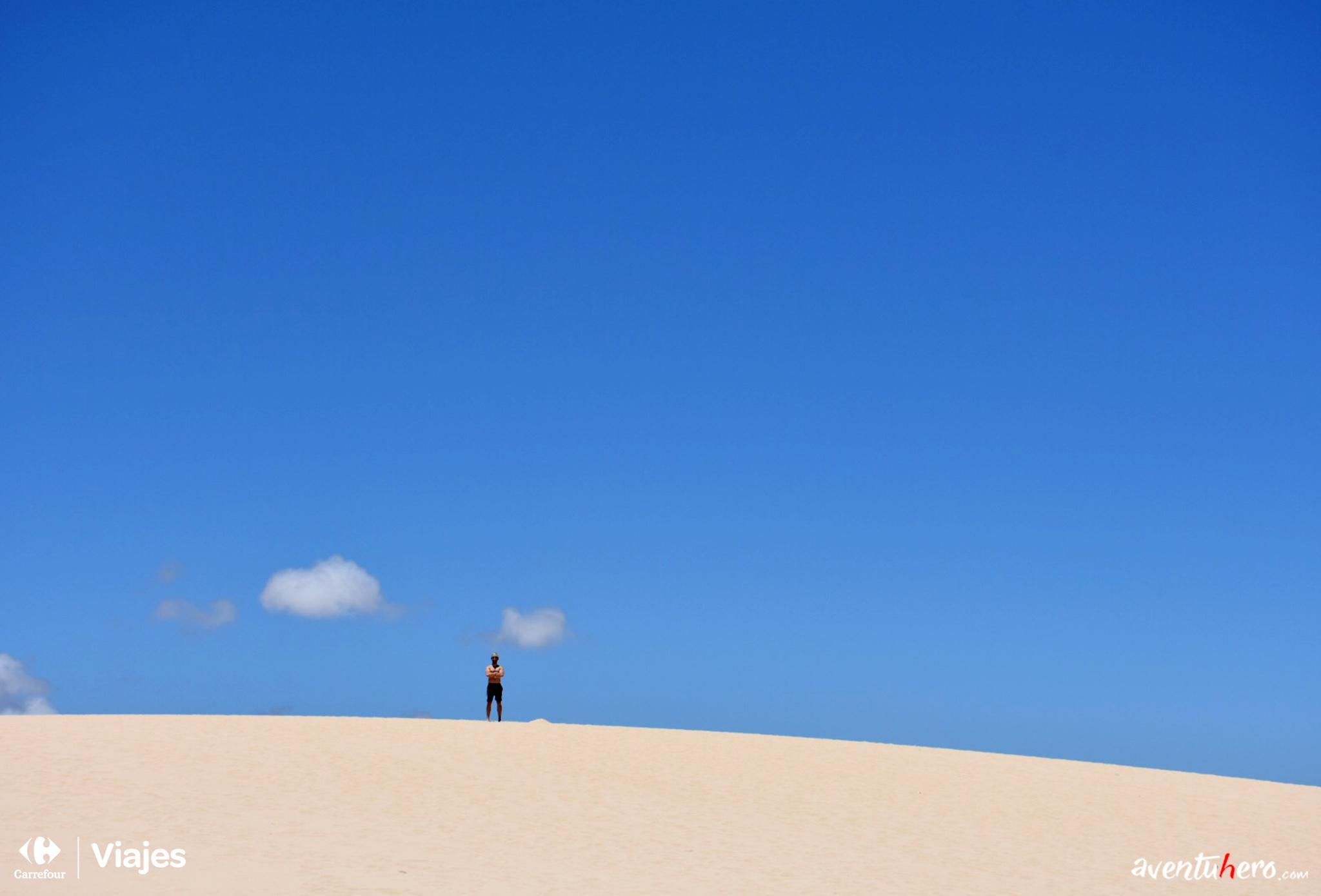 Aventuhero - En las dunas de El Corralejo