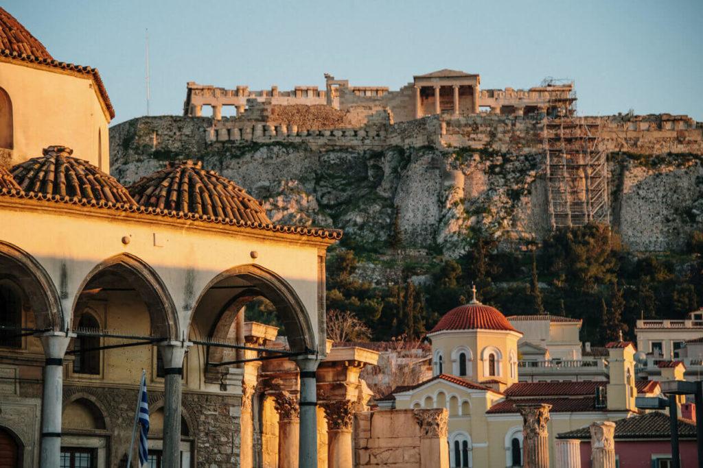 Antena ver si Iraklion, capital de la isla de Creta