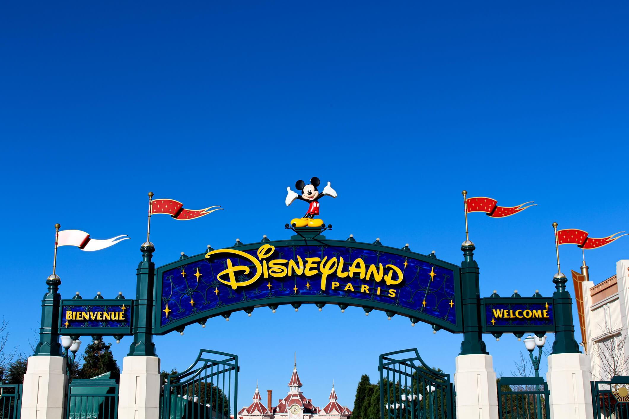 parque de atracciones en verano, Disneyland Paris