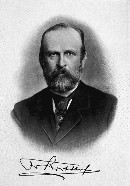 Ferdinand von Richthofen Ruta de la Seda