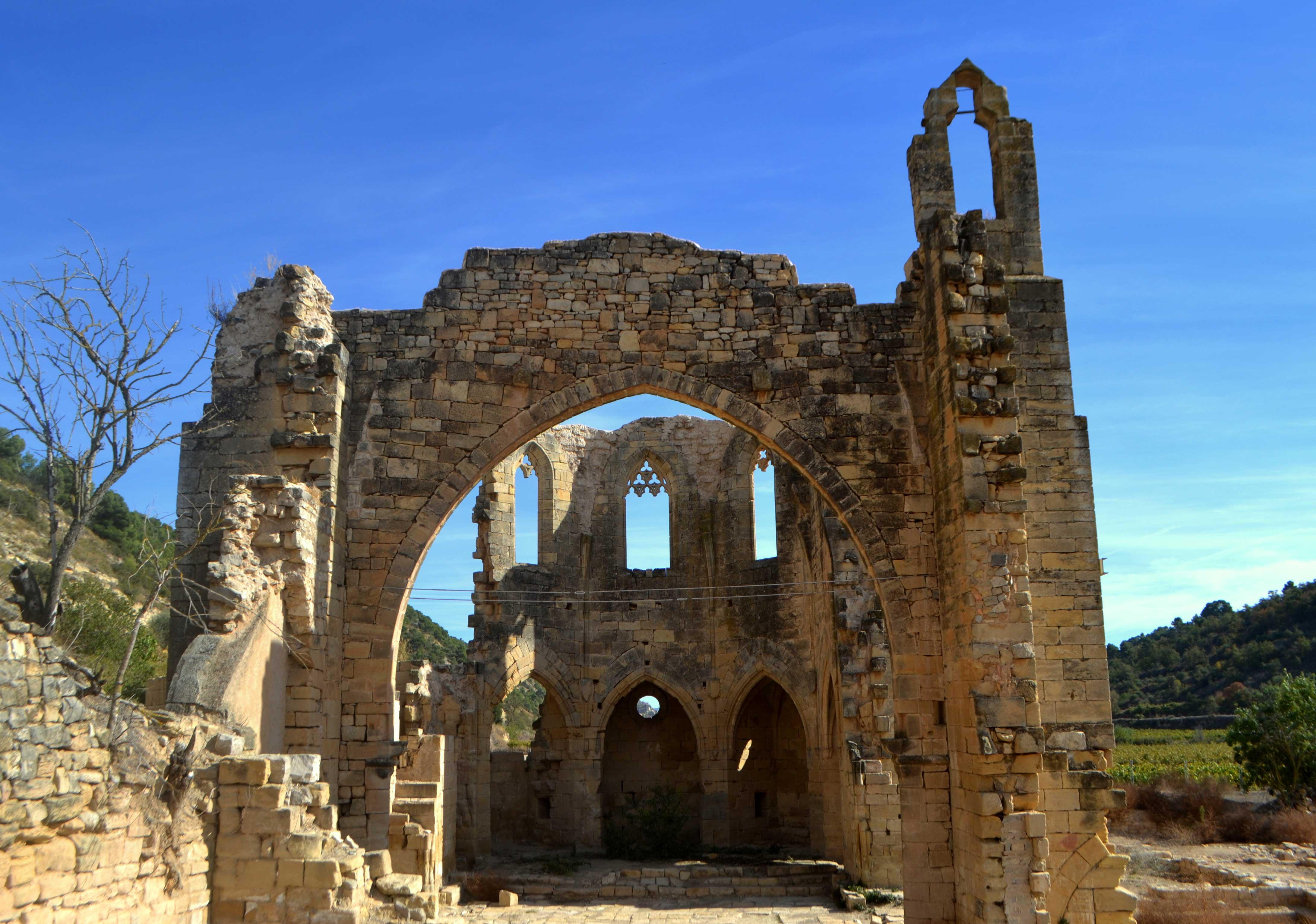 Escapada por pueblos medievales, Monasterio de Vallsanta (Guimera)