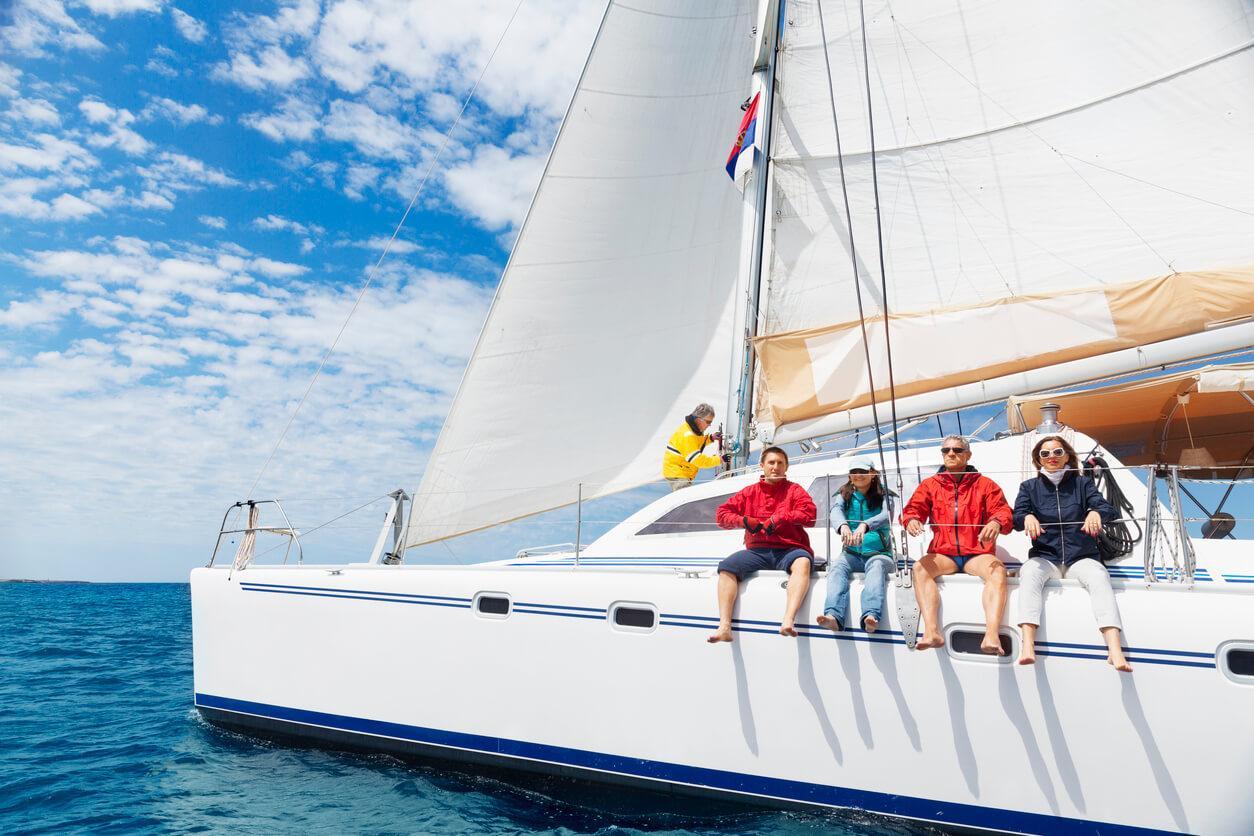 Navegación a vela, Ibiza