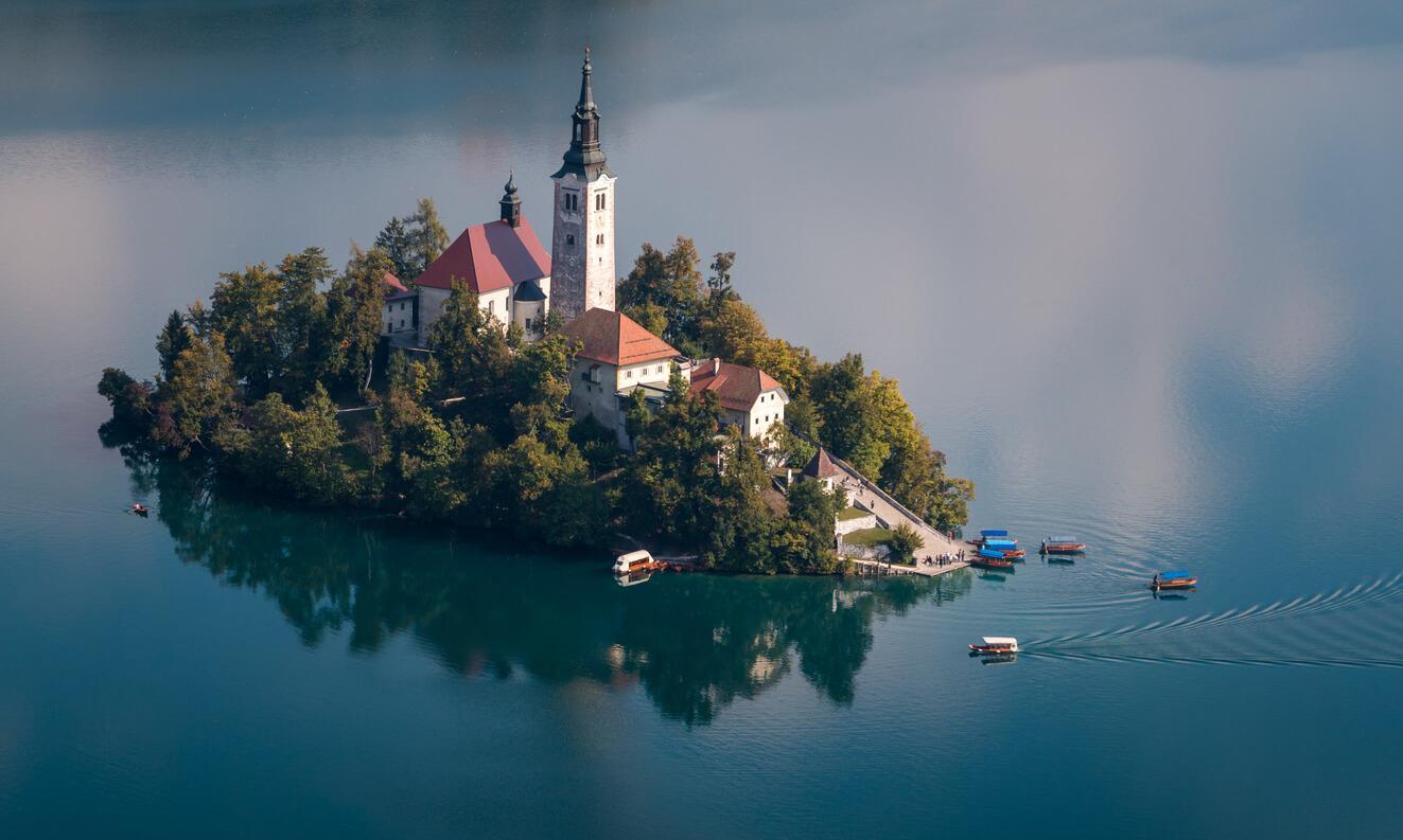 Viaje a Eslovenia, Lago Bled